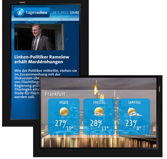Tagesschau- und Wetter-Template