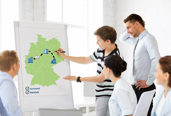 Landesweites Projektmanagement