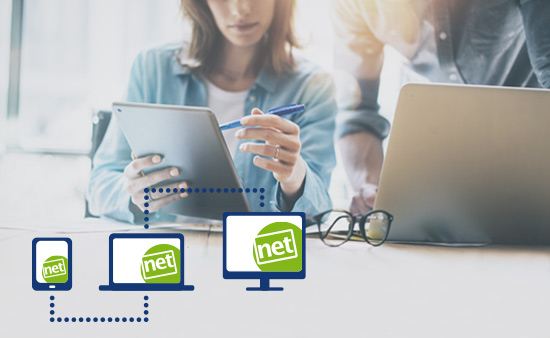 netscreens – Software, die verbindet