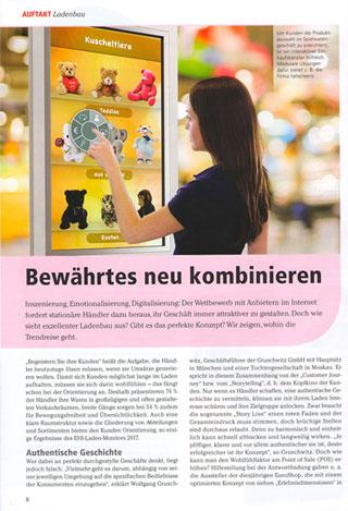 """Artikel im Magazin """"Das Spielzeug"""""""